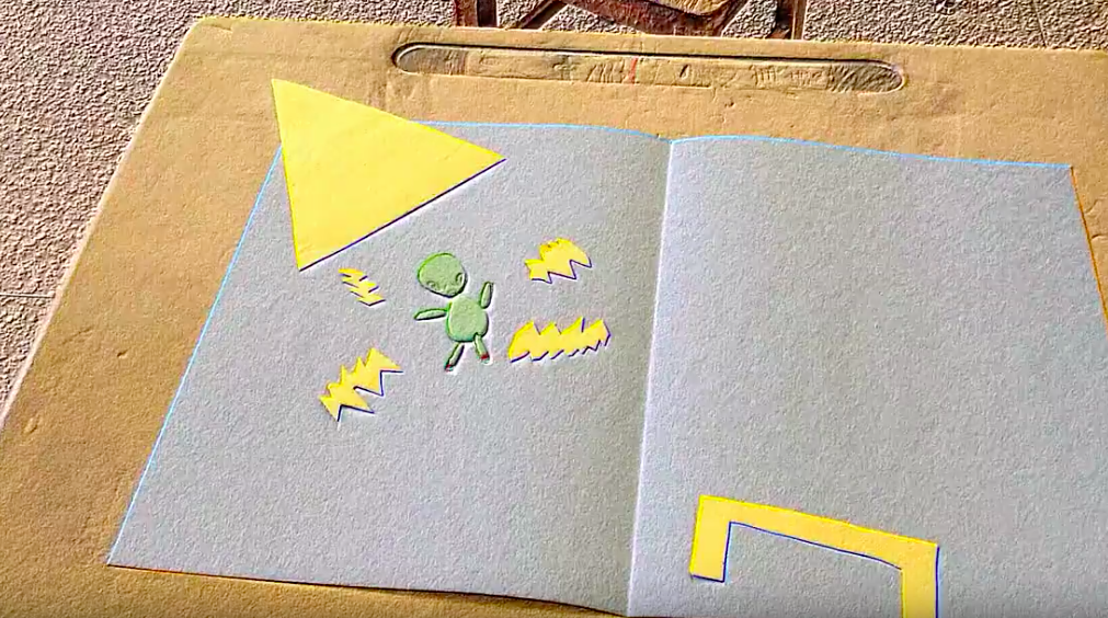 Cut Paper Animation